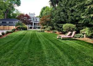 Beatuifully manicured Captain's Manor Grounds at the perfect place to stay on Cape Cod.