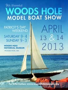 Woods Hole Model Boat Show Poster