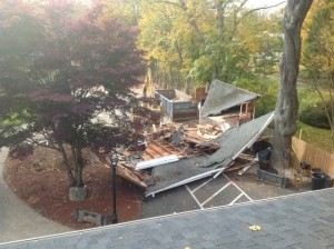 Ready to start the Carriage House construction now that the Garage has been demolished