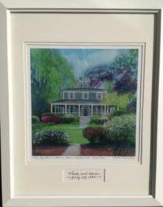 Karen Rinaldo Giclee Print of The Captain's Manor Inn
