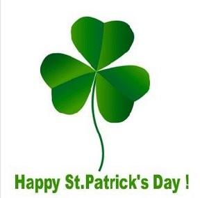 St. Patrick's Day shamrock