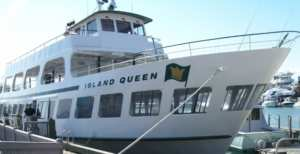 Island Queen Ferry as part of Go Green Special