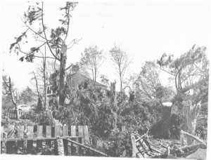 Cape Cod Hurricane 1944 at Mostly Hall