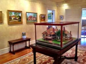 Highfield Hall art exhibit