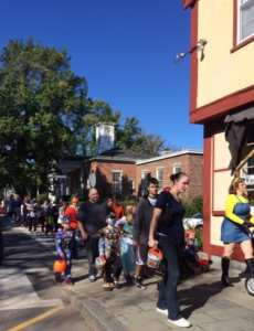 Trick or Treat at Eastman's Hardware in Falmouth Village