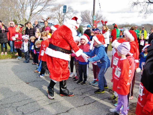 Falmouth Village Holiday Stroll for Holidays by the Sea