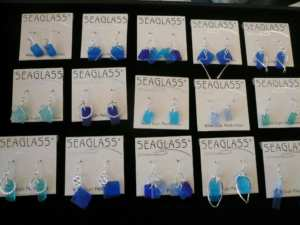Homespun Garden carries Jewelry made with seaglass