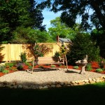 Falmouth Village Blooming new garden