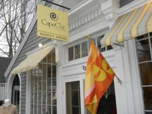 Cape Chic womens clothing in Cape Cod
