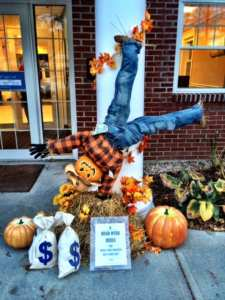 Village of Scarecrows Bank of Cape Cod