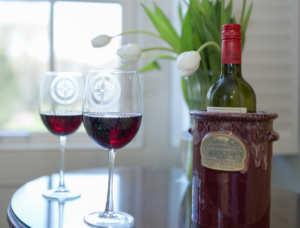 Wine Chiller to go with Tankard custom made for Captan's Manor Inn