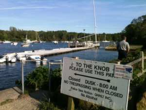 5 great hiking trails in upper cape cod the knob