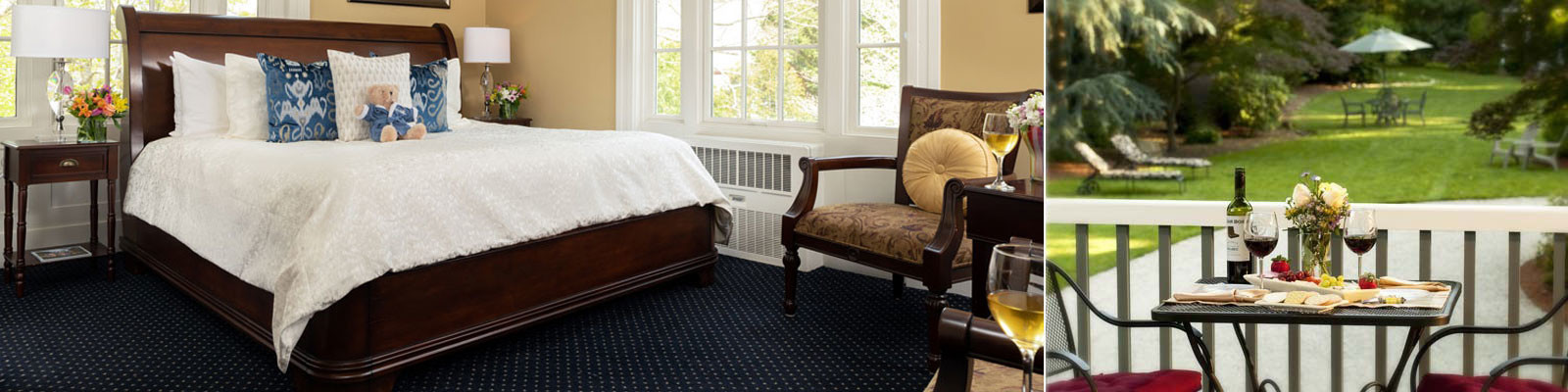 Cape Cod Bed & Breakfast: Guest Rooms - Captain's Manor Inn