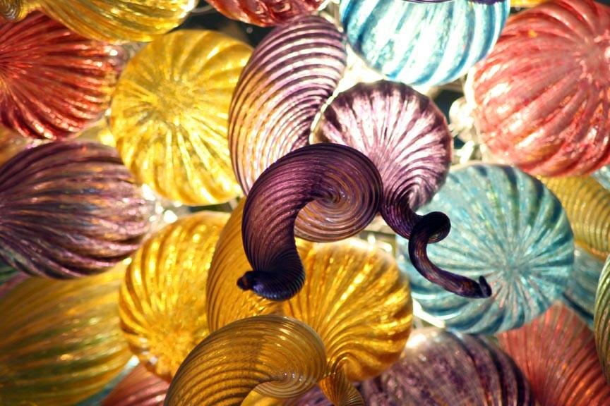 glass art at Sandwich Glass Museum
