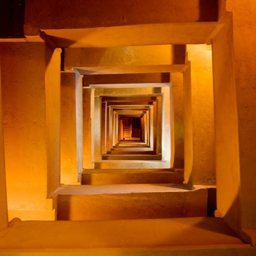 Inside the Pilgrim Monument